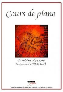 Asensio Sandrine - Leçon de musique et chant - Fougères