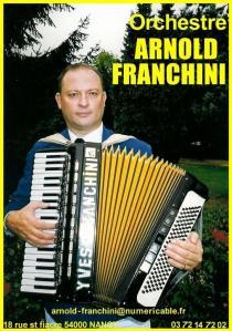 Orchestre Arnold Franchini - Entrepreneur et producteur de spectacles - Nancy