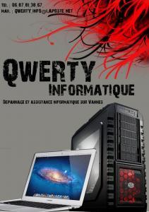 QWERTY informatique - Dépannage informatique - Vannes