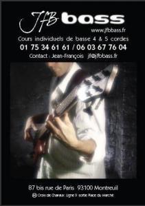 Jfbbass - Leçon de musique et chant - Montreuil