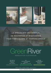 Green River Annecy Leman - Constructeur de maisons individuelles - Annecy