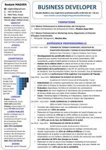 Rostant MAGHEN NEGOU - Agence marketing - Paris