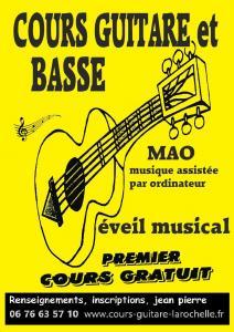Nau Jean-pierre - Leçon de musique et chant - La Rochelle