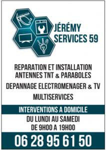 Jérémy Services 59 - Entreprise d'électricité générale - Wattrelos