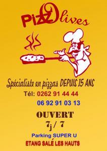 Pizz'olives - Restaurant - L'Etang-Salé