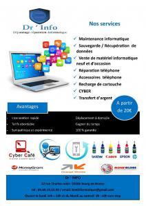 Dr Info SARL - Conseil, services et maintenance informatique - Bourg-en-Bresse