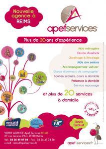 APEF Reims - Services à domicile pour personnes dépendantes - Reims