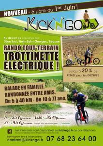Kick N Go - Sites et circuits de tourisme - Dijon