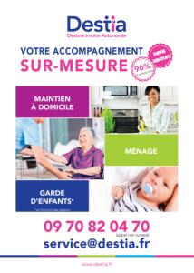 Destia - Ménage et repassage à domicile - Troyes