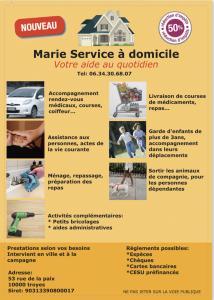 Marie Service à Domicile - Services à la personne - Troyes