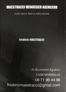 Maestracci Frédéric - Entreprise de menuiserie - Marseille