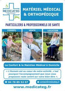 Medicateg - Vente et location de matériel médico-chirurgical - Villeurbanne
