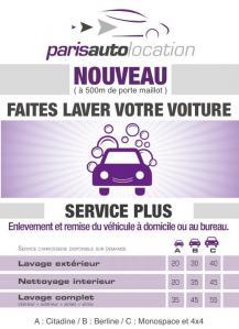 PARIS AUTO LOCATION lavage auto & moto et scooter - Lavage et nettoyage de véhicules - Paris