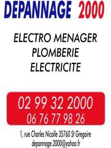 Dépannage 2000 - Dépannage plomberie - Saint-Grégoire