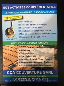 CDA Couverture - Entreprise de couverture - Champlan