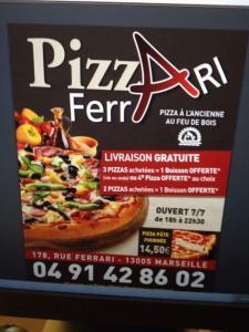 Pizza ferrari - Restaurant - Marseille