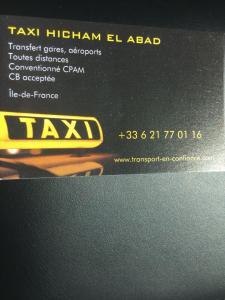 El Abad Hicham - Taxi - Bagneux