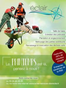 Association ECLAIR au Service du Quotidien - Petits travaux de jardinage - Blois