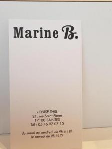 Louise Marine B - Coiffeur - Saintes