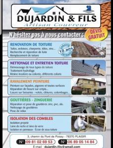 Dujardin & Fils - Artisan couvreur - Entreprise de maçonnerie - Plaisir