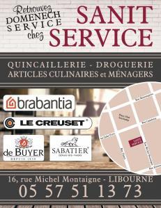 Sanit Service - Quincaillerie pour bâtiment et ameublement - Libourne