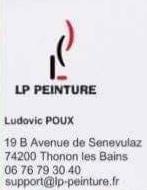 LP Peinture Ludovic POUX - Entreprise de peinture - Thonon-les-Bains