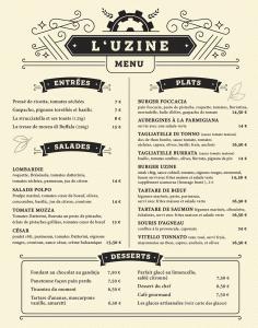 L'Uzine - Restaurant - Annecy