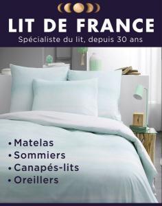 Lit de France - Literie - Saint-Laurent-du-Var