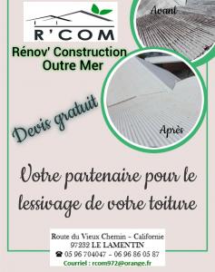 R'com - Entreprise de couverture - Le Lamentin