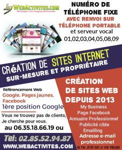 Webactivites - Vente en ligne et par correspondance - Nantes