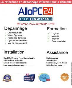 AlloPC24 - Dépannage informatique - Vincennes