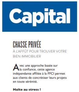 Chasse Privée - Agence immobilière - Paris