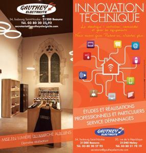 Gauthey Electricité - Entreprise d'électricité générale - Beaune