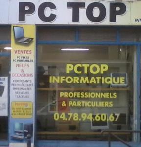 Pctop Informatique - Dépannage informatique - Villeurbanne