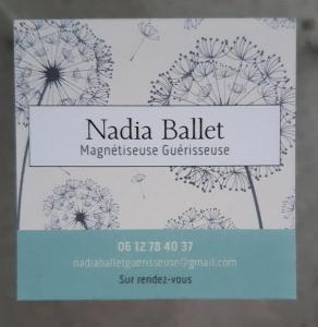Nadia Ballet - Soins hors d'un cadre réglementé - Orléans