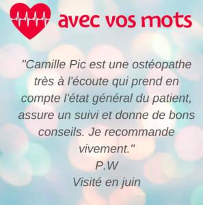 Camille Pic - Ostéopathe - Lyon