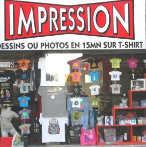 Impression Blue Cap - Sérigraphie - Rennes
