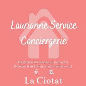 Laurianne Service Conciergerie à la Ciotat - Blanchisserie pour collectivités - La Ciotat
