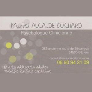 Muriel Alcalde Guichard - Sophrologie - Béziers