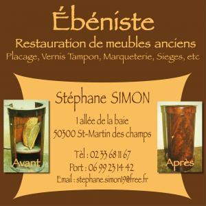 Stéphane Simon - Ébénisterie d'art et restauration de meubles - Avranches