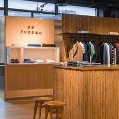 Corner De Fursac - Printemps Haussmann - Vêtements homme - Paris