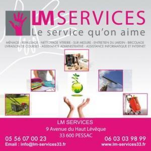 LM Services SARL - Entreprise de nettoyage - Pessac