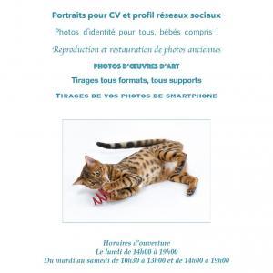 Studio Cyan - Photographe de portraits - Paris