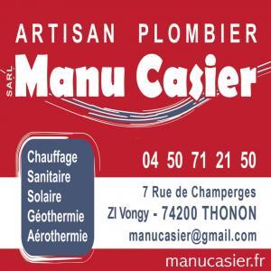 Manu Casier - Vente et installation de chauffage - Thonon-les-Bains