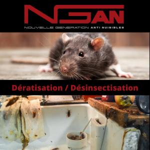 NGAN 10 Nouvelle Génération Anti Nuisibles - Dératisation, désinsectisation et désinfection - Troyes