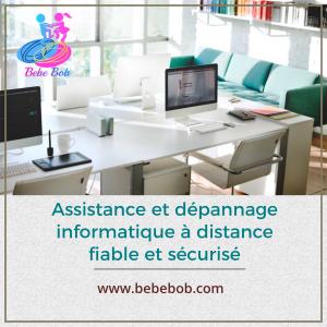 Baude Patrice BebeBob - Dépannage informatique - Paris