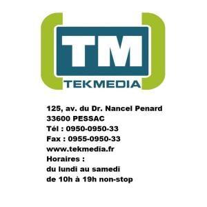 Tekmedia Sarl - Dépannage informatique - Pessac