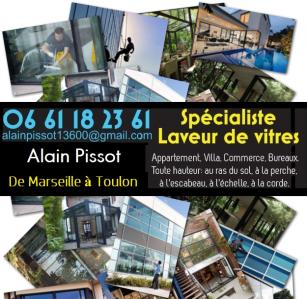 Pissot Alain Laveur De Vitres - Entreprise de nettoyage - La Ciotat