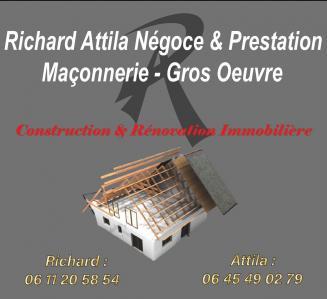 Richard Attila Négoce & Prestation - Entreprise de bâtiment - Vénissieux