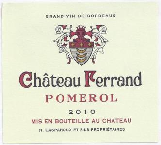 Château Ferrand - Producteur et vente directe de vin - Libourne